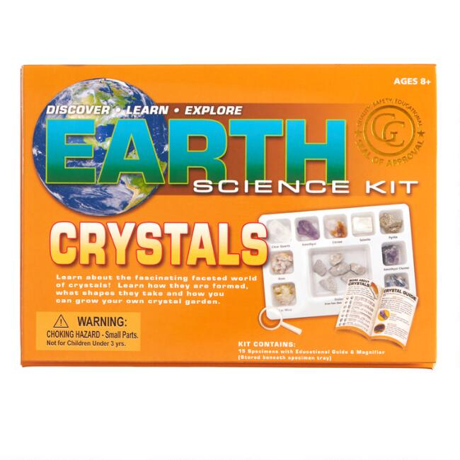 Geo Central Earth Science Crystals Kit