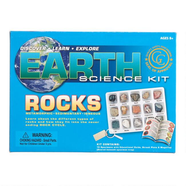 Geo Central Earth Science Rocks Kit