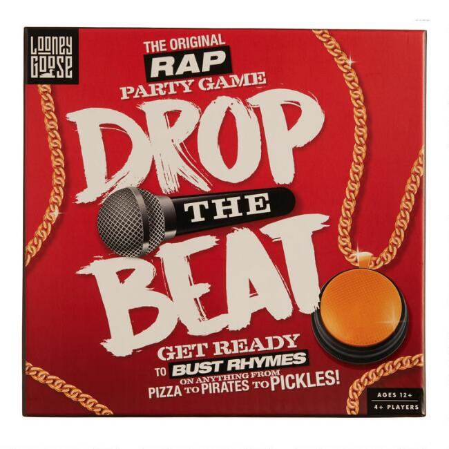 Drop The Beat Rap Party Game