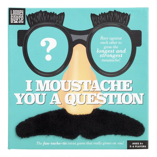 I Moustache You A Question Trivia Game