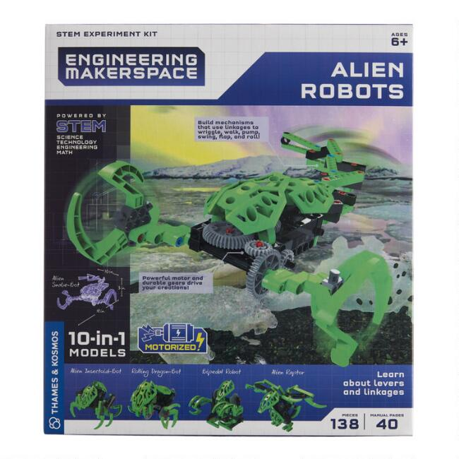 Thames & Cosmos Alien Robots Engineering Kit