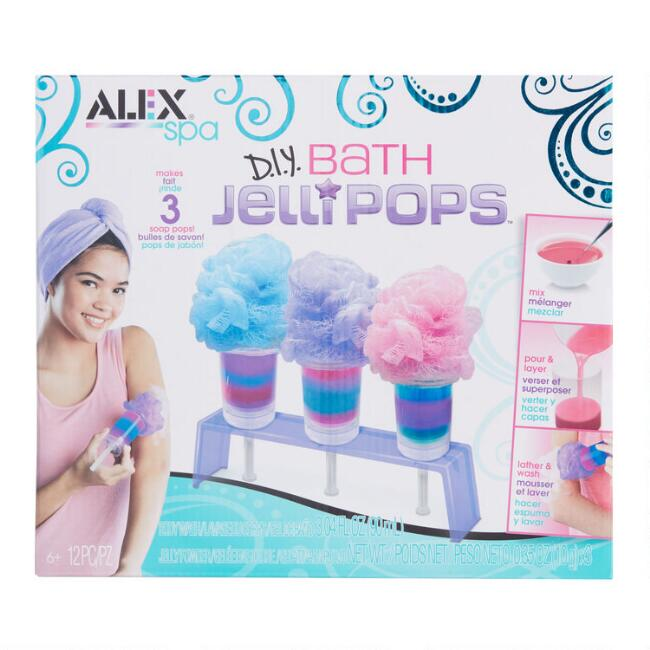 Alex DIY Bath Jelli Pops Craft Kit