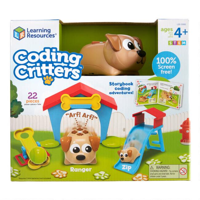 Learning Resources Coding Critters Interactive Toy Set