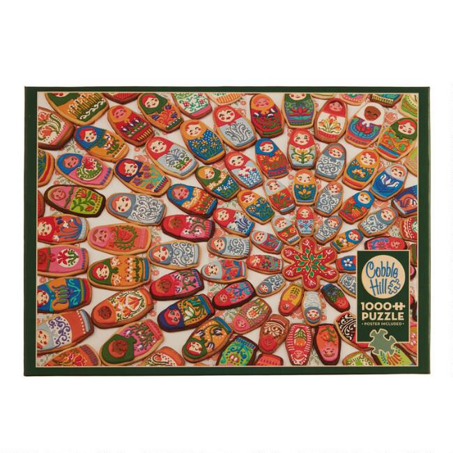 Cobble Hill Matryoshka Cookies 1000 Piece Puzzle