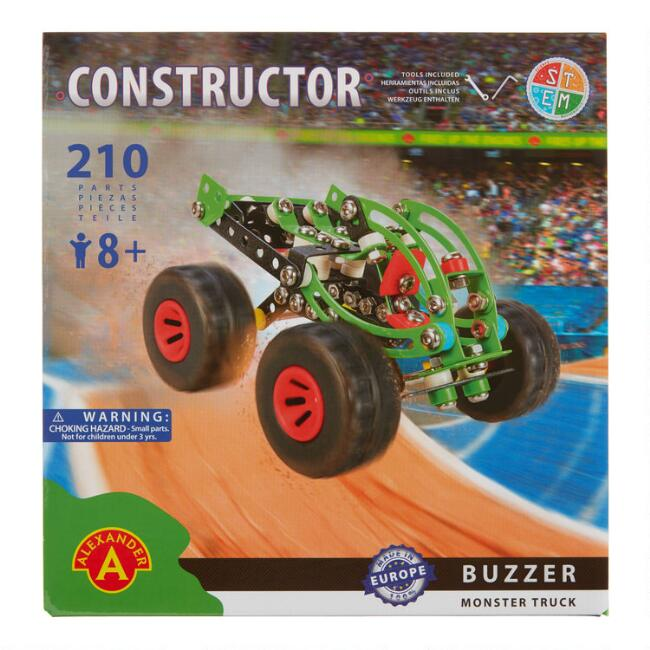 Alexander Constructor Buzzer Monster Truck Model Kit