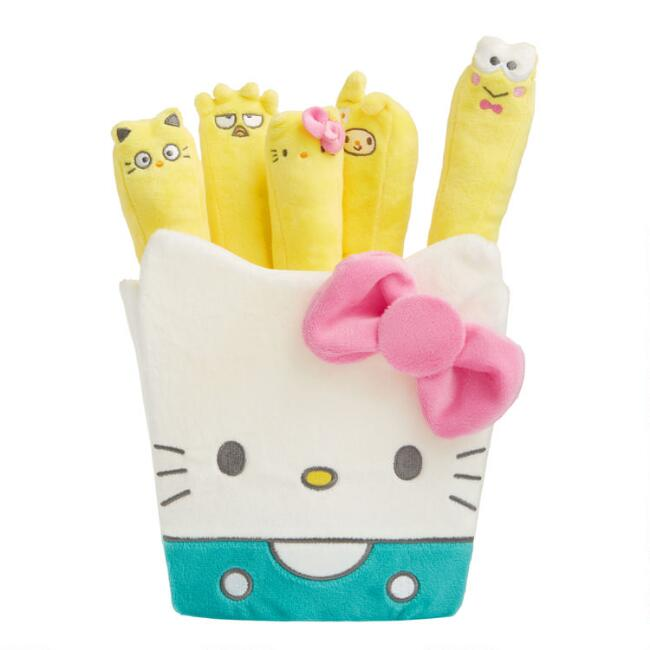 Kidrobot Sanrio Plush Stuffed French Fries