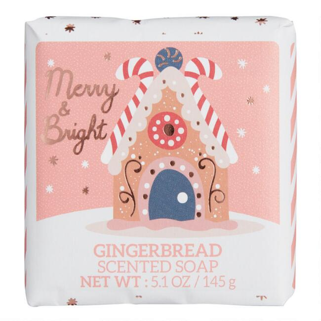 Castelbel Gingerbread Holiday Desserts Bar Soap