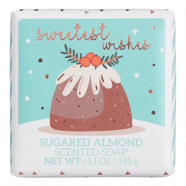 Castelbel Sugared Almond Holiday Desserts Bar Soap