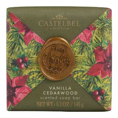 Castelbel Wax Seal Vanilla & Cedarwood Bar Soap