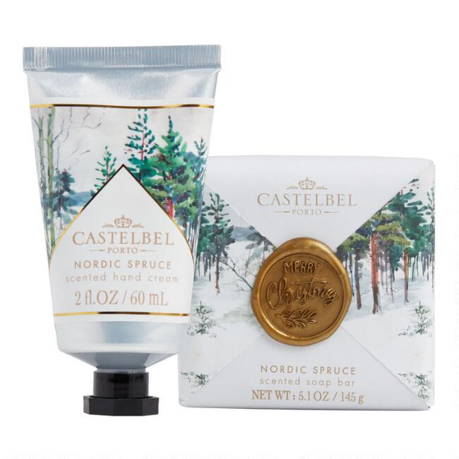 Castelbel Wax Seal Nordic Spruce Hand Care Collection