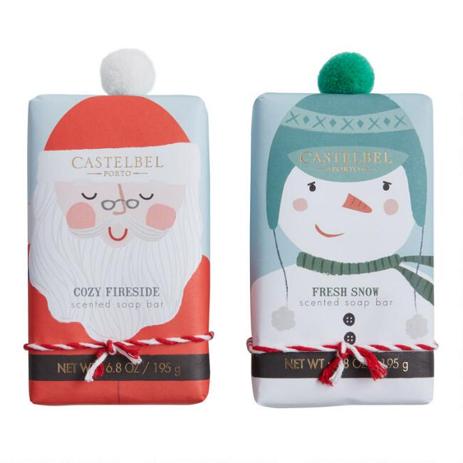 Castelbel Christmas Pom Pom Bar Soap Collection