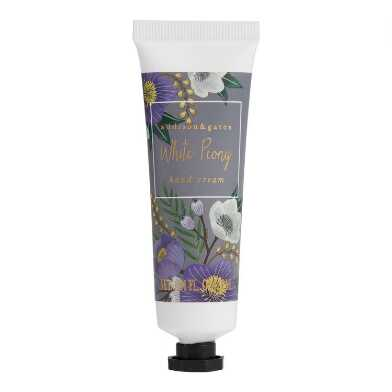 A&G Winter Floral White Peony Hand Creams Set of 3