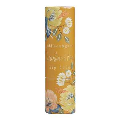 A&G Winter Floral Clementine and Honey Lip Balm