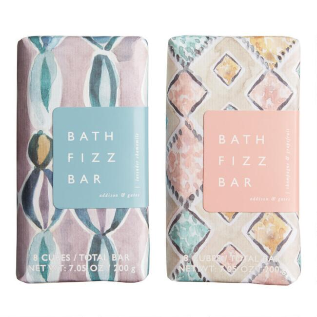 A&G Watercolor Bath Fizz Bar Collection