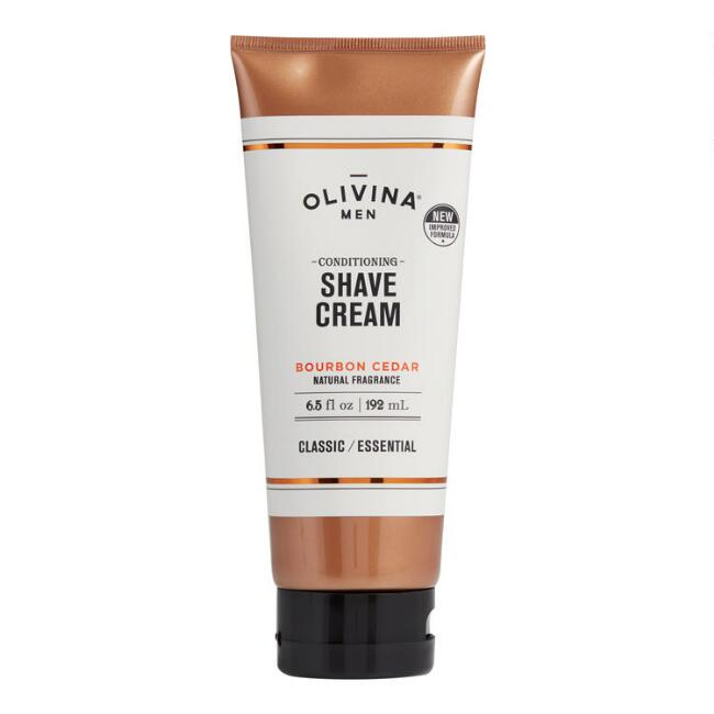 Olivina Men's Bourbon Cedar Conditioning Shave Cream