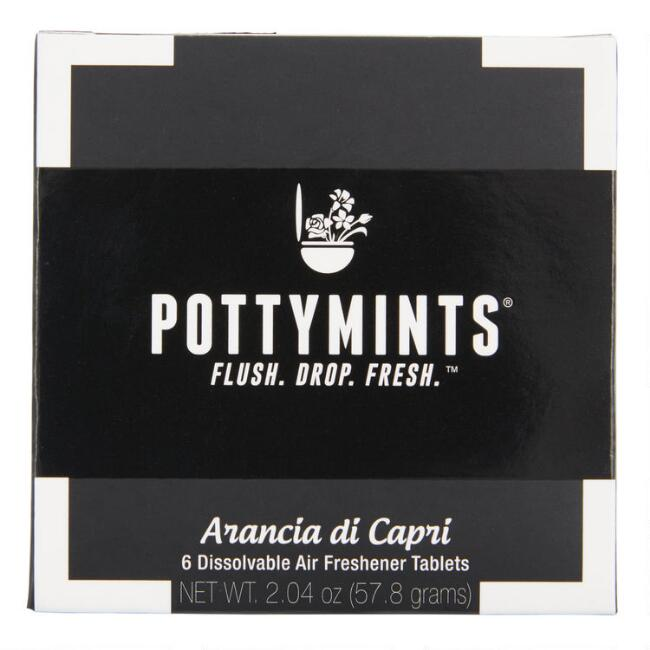 Pottymints Arancia di Capri Air Freshener Tablets Set of 2