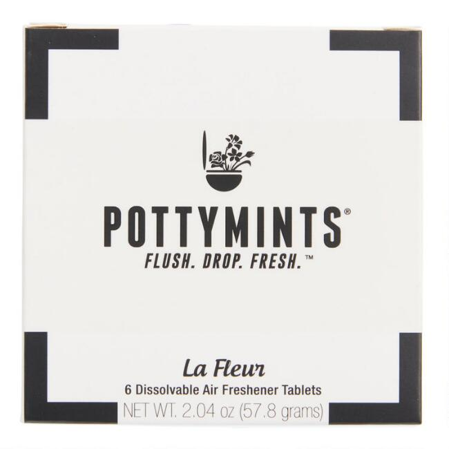 Pottymints La Fleur Air Freshener Tablets Set of 2
