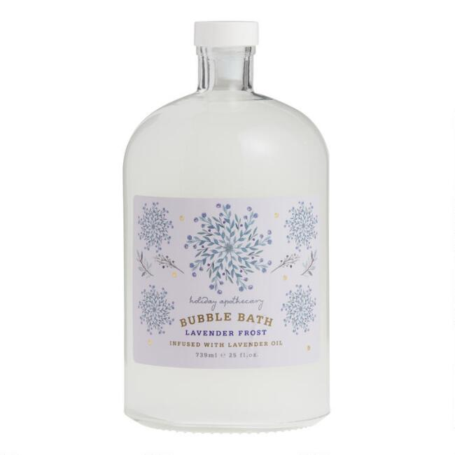 Holiday Apothecary Lavender Frost Bubble Bath