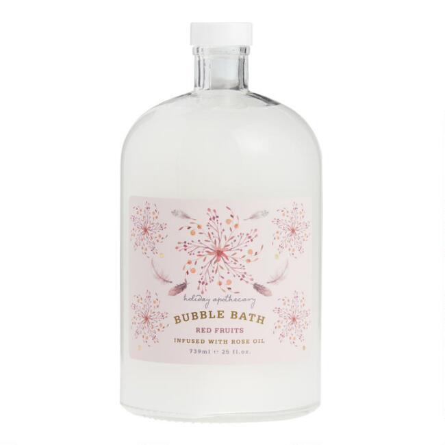 Holiday Apothecary Red Fruits Bubble Bath