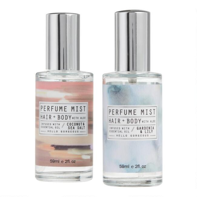 Mini Hair and Body Perfume Mist Collection