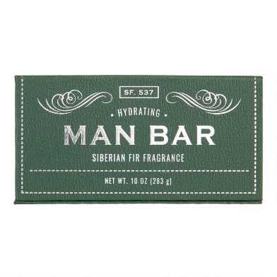 San Francisco Soap Company Siberian Fir Man Bar