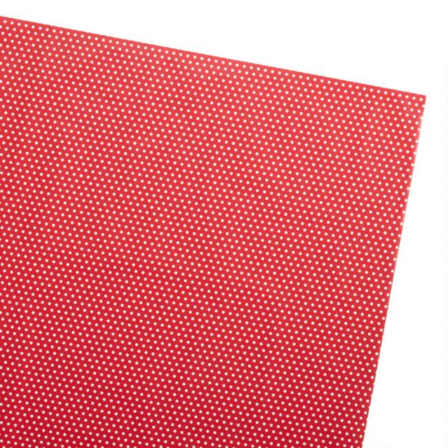 Red And White Polka Dot Holiday Jumbo Wrapping Paper Roll