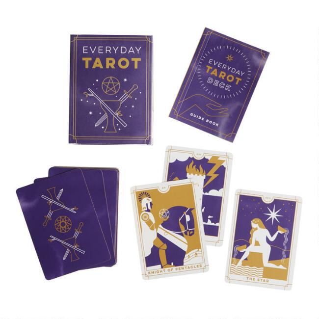 Mini Everyday Tarot Deck with Book