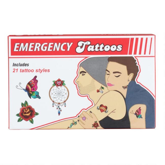 Emergency Temporary Tattoos