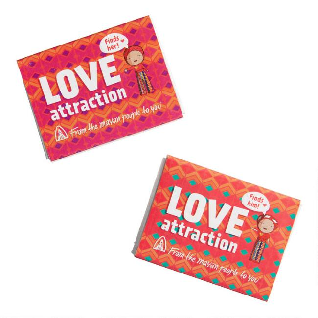 Love Attraction Worry Dolls Set Of 2