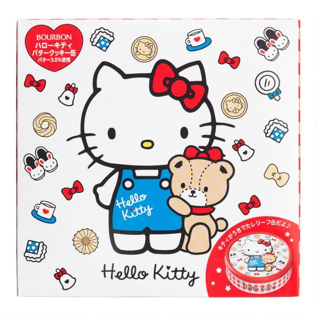 Hello Kitty And Tiny Chum Assorted Cookie Tin