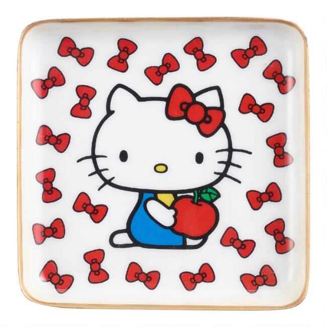 Small Retro Hello Kitty Trinket Dish