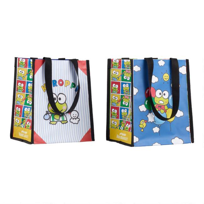 Small Keroppi Tote Bags Set Of 2