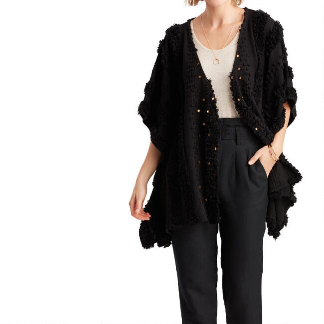 Black And Gold Moroccan Style Marrakesh Jacket