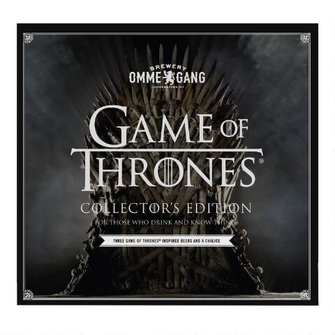 Ommegang Game Of Thrones Beer Gift Set