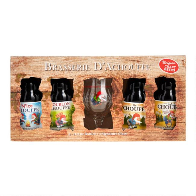 Chouffe Belgian Beer and Glass Gift Set