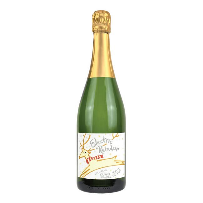 Electric Reindeer Sparkling Wine
