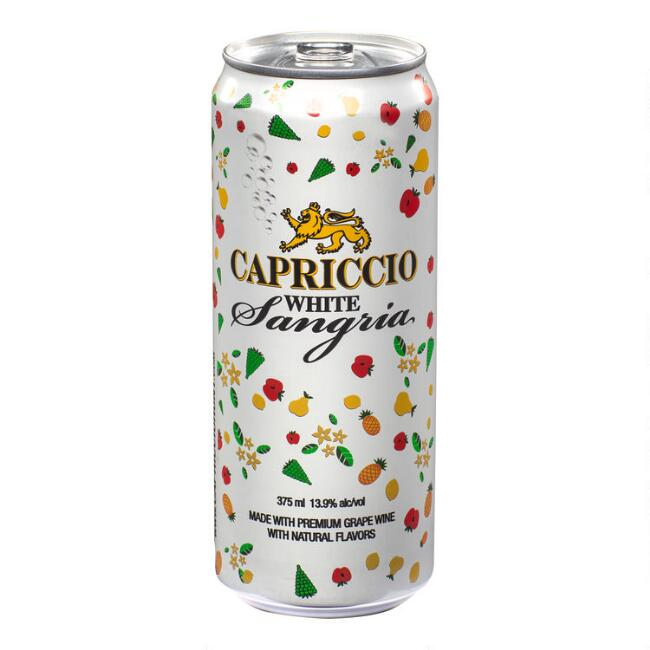 Capriccio White Sangria 375ml Can