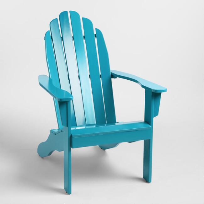 Deep Teal Adirondack Chair