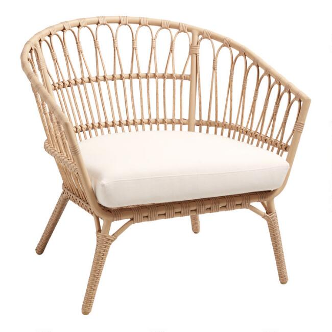 All Weather Wicker Lenco Outdoor Occasional Chair