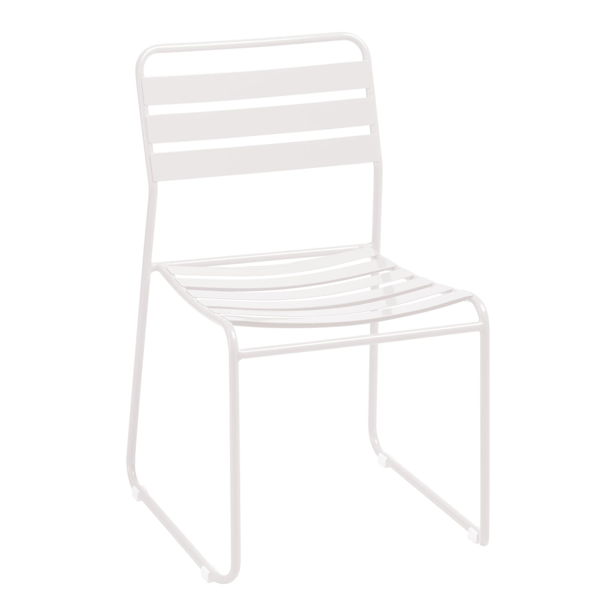 Metal Naxos Outdoor Dining Chairs World Market