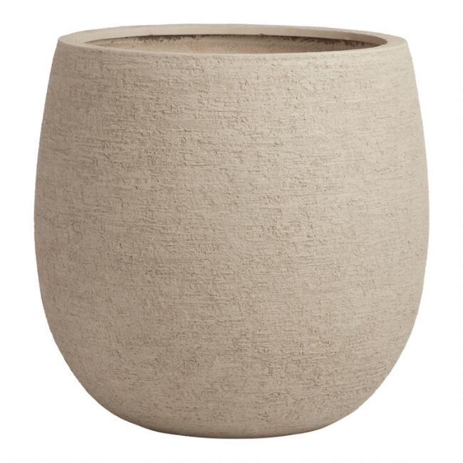 Medium Sand Lightweight Andreas Outdoor Planter