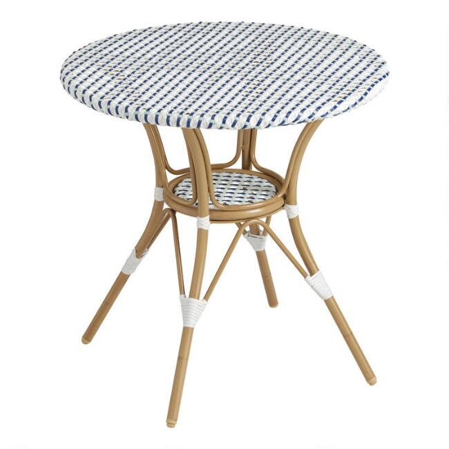 All Weather Wicker Woven Amelie Outdoor Dining Table