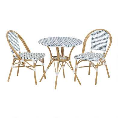 All Weather Wicker Woven Amelie Outdoor Dining Collection