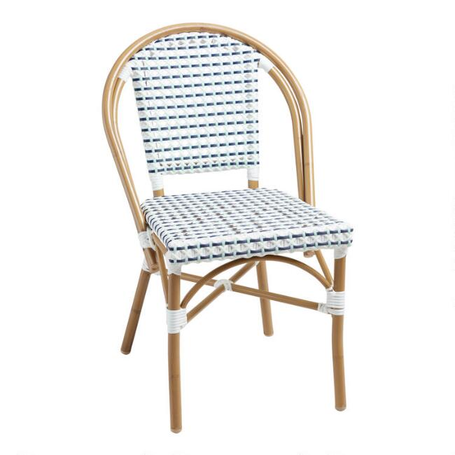All Weather Wicker Woven Amelie Outdoor Dining Chair