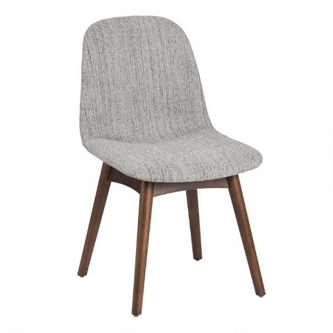 Mid Century Molded Edith Upholstered Dining Chair World Market
