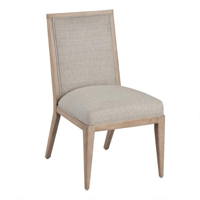 Gray Meredith Upholstered Dining Chair Set of 2