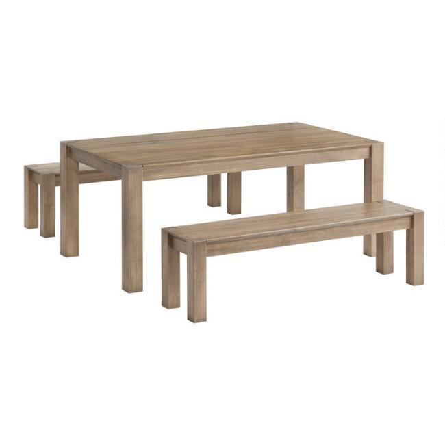 Graywashed Pine Rylie Dining Collection