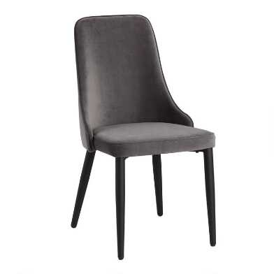 Gray Elodie Dining Chair