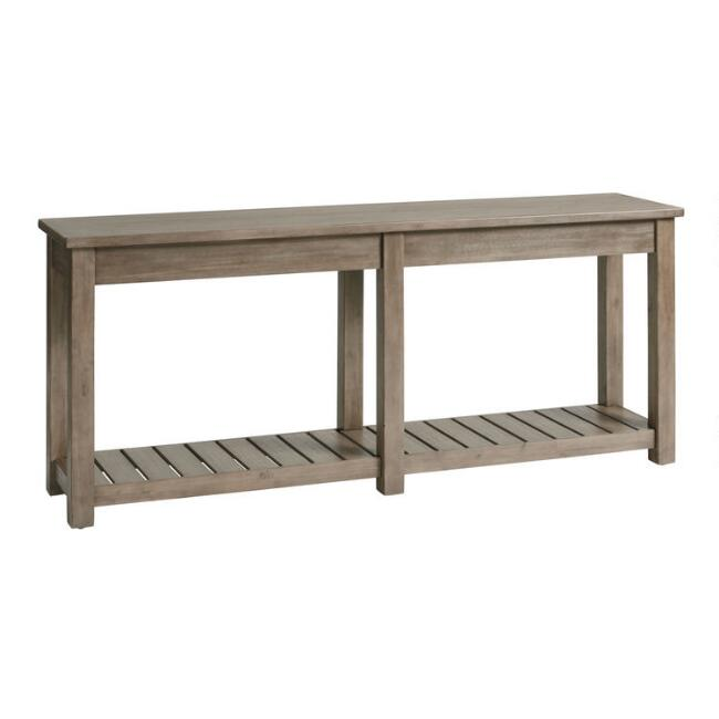 Graywashed Cameron Console Table