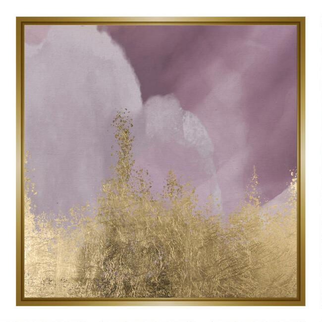 Dreaming Abstract Framed Canvas Wall Art